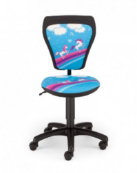 Dečija daktilo stolica Ministyle TS22 GTP28-BL Pony SH