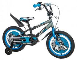 """Dečiji Bicikl Wolf 16"""" crna/siva/plava ( 460474 )"""
