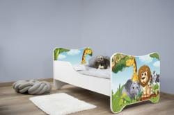 Dečiji krevet 140x70 cm happy kitty AFRICA ( 7541 )