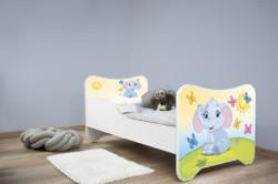 Dečiji krevet 160x80 cm heppy kitty LITTLE ELEPHANT ( 7446 )