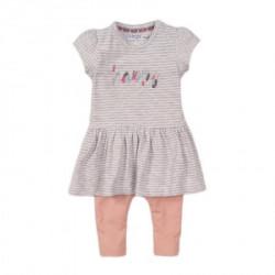 Dirkje komplet (haljina kratkih rukava, helanke), devojčice ( A047329-68 )