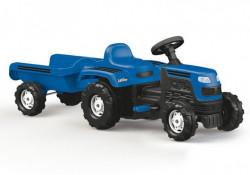 Dolu Ranchero Traktor sa prikolicom na pedale - Plavi ( 080462 )