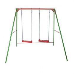 Double Fun - velika ljuljaška za decu - metalna konstrukcija 120x160x200 (1065)