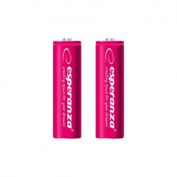 Esperanza EZA103R punjive baterije AA 2000mah 2 kom crvene