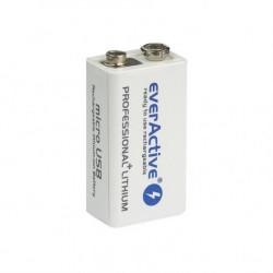 EverActive punjiva baterija block 550 mAh ( EVHR6F22-550 )