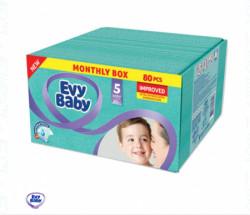 Evybaby pelene box 5 junior 12-25kg 80kom ( A002788 )