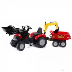 Falk Case Traktor na pedale konstruktor 995w