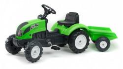 Falk Garden Master Traktor na pedale sa prikolicom 2057J - Zeleni