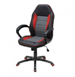 Gaming Fotelja Plus - crveno siva ( 43531 )