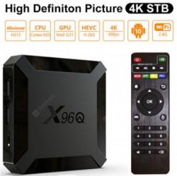 Gembird 2/16GB DDR3 smart TV box allwinner H313, A53 quad, mali-G31 4K, KODI android 10.0 ( GMB-X96Q )