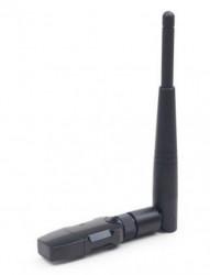 Gembird high power USB wireless adapter 300N, detachable antena, RF pwr WNP-UA300P-01