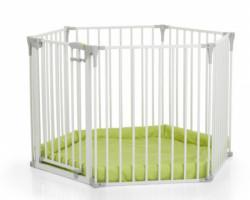 Hauck ogradica baby park, bela ( A045541 )