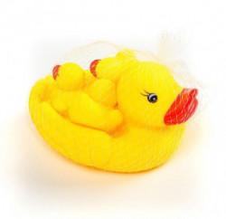 Hk Mini igračka gumena patka i pačići u mreži ( A012188 )