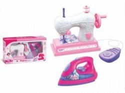 HK Mini igračka, set za šivenje- pegla i mašina ( 6690033 )