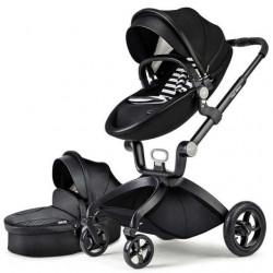 Hot Mom kolica black 2u1 (sportsko sediste+korpa) ( F022BLACK )