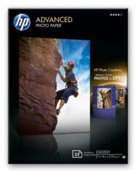 HP Advanced Glossy Photo Paper 250 gm2-13 x 18 cm borderless25 strana ( Q8696A )