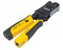 Intellinet Crimping Tool and Cable tester RJ11RJ45 Test 6 Cable Blister