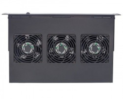 "Intellinet Ventilation Unit 3-Fan za 19"" Racks crni (712668)"