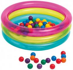 Intex Classic bazen na naduvavanje sa lopticama ( 48674 )