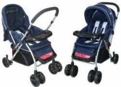 Jungle Mommy Dečija kolica - plava ( 012108 )