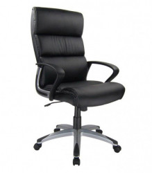 Kancelarijska fotelja 2129 od eko kože - Crna