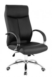 Kancelarijska stolica FORD HB od eko kože - Crna