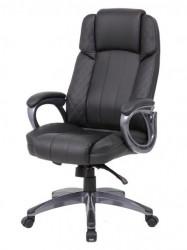 Kancelarijska stolica OFFICE STAR od eko kože - Crna