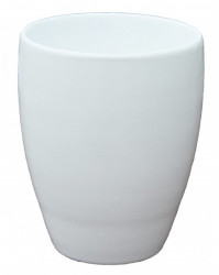 Kerbek saksija romy 16cm uni bela ( KE D50/160/001 )