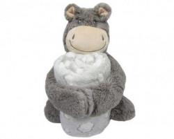 Kikka Boo Set igračka + ćebence Hippo ( 31103020043 )