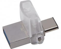 Kingston 32GB DataTraveler MicroDuo 3C USB 3.1 flash ( DTDUO3C/32GB ) srebrni
