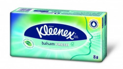 Kleenex Balsam Fresh pakovanje papirnih maramica sa mentolom 8 x 9 komada ( 2080096 )