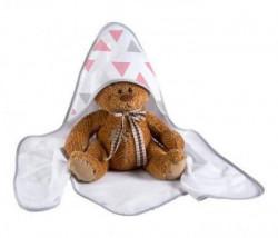 Klups Peškir za bebe triangles 100x100cm ( K062T )
