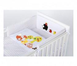 Klups Posteljina za bebe set 5 delova hedgehogs ( C-5/K042 )