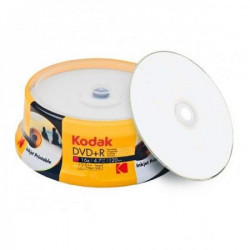 Kodak DVD+R full surface printable 4.7GB 16X K1330325 ( 556FF+KO/Z )