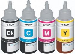 Komplet boja 4x70ml za Epson Ciss štampače ( L100, L200, L110, L130, L210, L220, L300, L310, L355, L365, L386, L455, L550, L565. L655, L1300, L1455 )