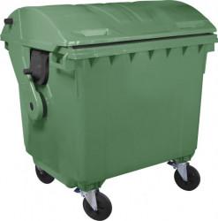 Kontejner za otpatke 1100 litara - Polukružni poklopac
