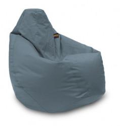Lazy Bag - fotelje - prečnik 90 cm - Tamno sivi