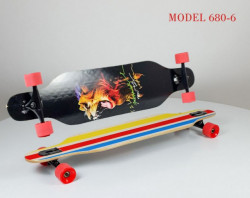 Longboard Skejt nosivost do 100kg - Model 680-6