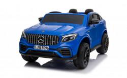Mercedes Licencirani Dvosed 4x4 model 311/1 sa kožnim sedištima i mekim gumama - Metalik plavi