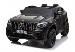 Mercedes Licencirani Dvosed 4x4 model 311 sa kožnim sedištima i mekim gumama - Crni