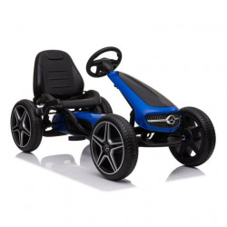 Mercedes Licencirani Karting - Formula na pedale sa mekim gumama - Plava
