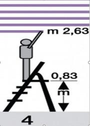 Merdevine Massima-4 stepenika ( D16040 )