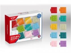 Merx huanger bebi igračka gumene kocke brojevi ( MS45207 )