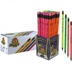 Milla grafička olovka triangl neon sa gumicom 72/1 ( 10/0275 )