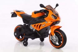 Motor 127 na akumulator 6V sa svetlećim točkovima - Narandžast