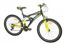 "MTB Bicikla Taurus 26""/18 crna/neon žuta ( 650086 )"