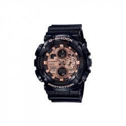 Muški G Shock Casio Multifunkcionalni Crni Zlatni Sportski Analogno Digitalni Ručni Sat
