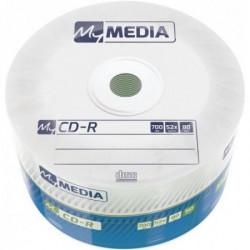 Mymedia CD-R 52X 50PK WRAP 700MB 69201 ( 74MM/Z )