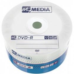Mymedia DVD-R 4.7GB 16X 50PK WRAP 69200 ( 5516WMM/Z )