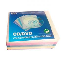 N/A PVC omot deblji za 2 diska 5 boja pakovanje 100kom ( POMO2+C/Z )